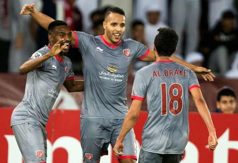 El Arabi double gives Al Duhail Champions League win. AFP