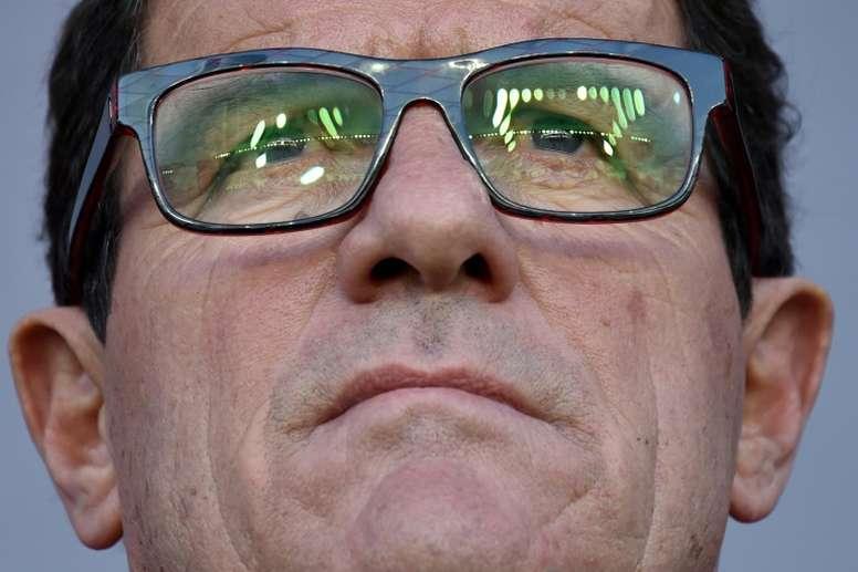 Fabio Capello recordó sus etapas en el Madrid. AFP
