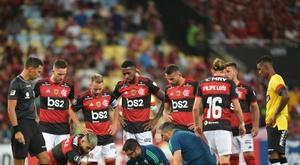 The Copa Libertadores has been suspended by CONMEBOL. AFP
