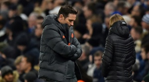 Lampard concerned by 'sobering' night for Chelsea. AFP