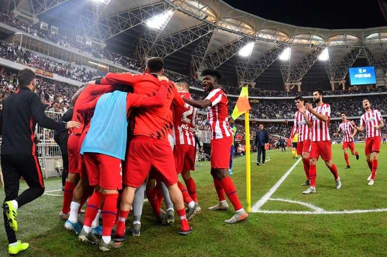 Más moral para el reto del Liverpool. AFP