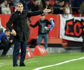 Valverde hoping to make up for defeat in the first leg of Copa del Rey quarter-final battle. AFP