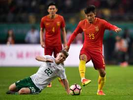 China e India empataron sin goles en un amistoso. AFP
