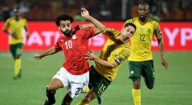 Salah is out. AFP