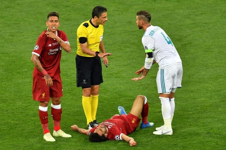 Blessure de Salah: Roberto Firmino répond à Sergio Ramos