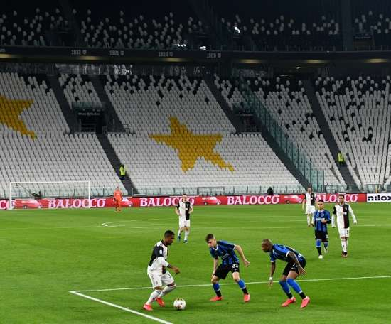 Serie A meeting Italian Government to discover fate of season. AFP