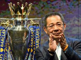 The Vichai Srivaddhanaprahba Foundation will continue the work of the late Leicester chairman. AFP