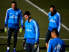 Courtois ready for Atletico anger as Real eye derby victory