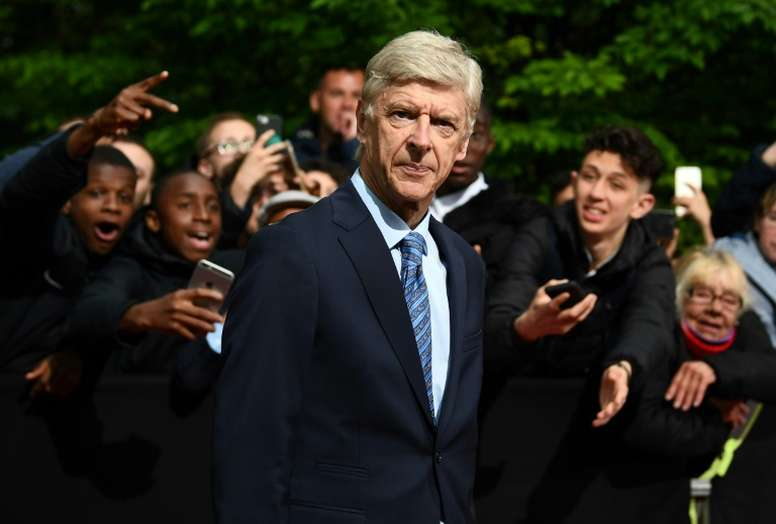 Arsene Wenger refuses to rule out a potential return to management. AFP