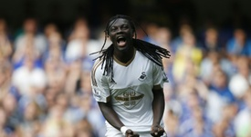 Gomis will play for the Ligue CFA club. AFP