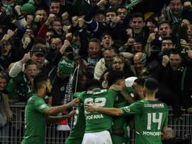 La belle initiative de l'AS Saint-Étienne. AFP