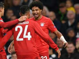 Gnabry returned to England to play the match of his life. AFP