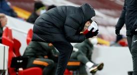 Quais os três objetivos do Liverpool? AFP