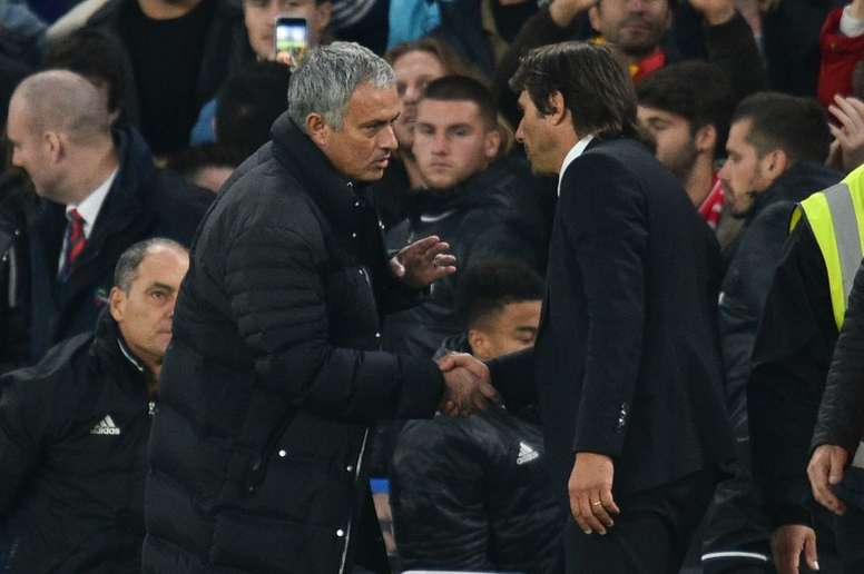 Mourinho admits Conte 'contempt'. AFP