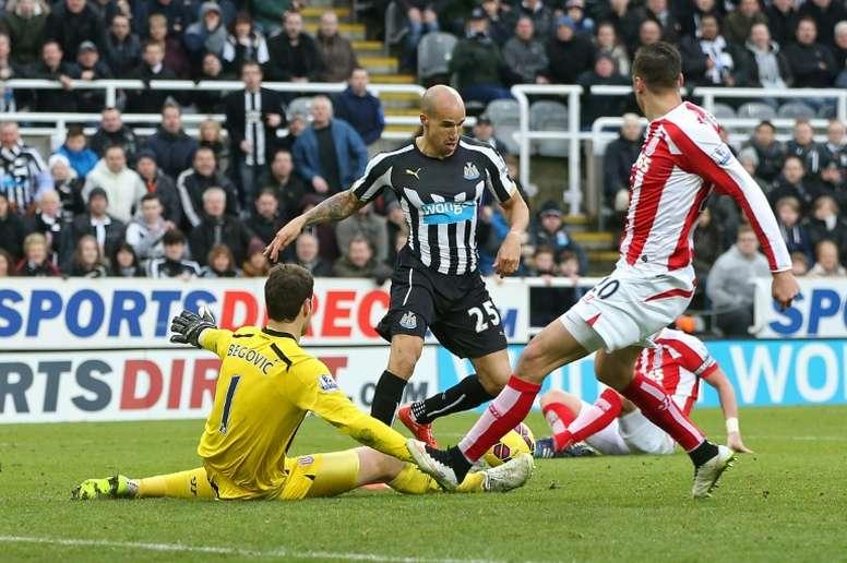 Gabriel Obertan rescindió su contrato con el Newcastle el pasado mes de mayo. Archivo/EFE/EPA