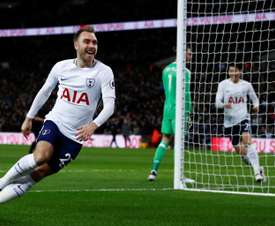 Spurs will continue to play at Wembley whilst waiting for completion. AFP