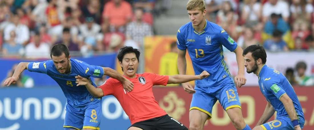 Ukraine were the Copa America winners. AFP