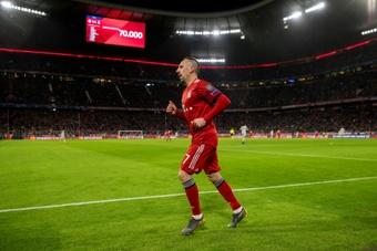 Matthaüs pousse pour un retour de Franck Ribéry. AFP