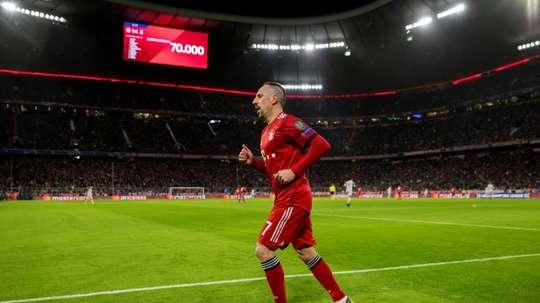 Ribery songe à un retour en Bundesliga. afp