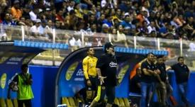Diego Maradona took over at Dorados last year. AFP
