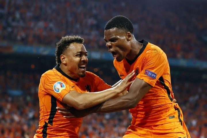 Les deux hommes ont impressionné pendant l'Euro. AFP