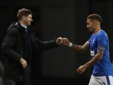 Gerrard leads Rangers' revival as Celtic crumble. AFP