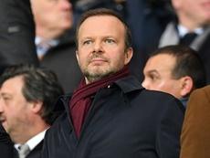 Ed Woodward remains positive despite United's increasing debt. AFP