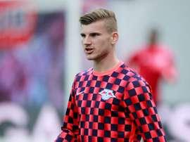 Werner falou sobre sua decisão de ir à Premier League. AFP