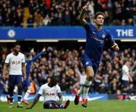Os seis jogadores que não contam mais para o Chelsea. AFP