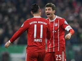 Sorteo amable para el Bayern. AFP