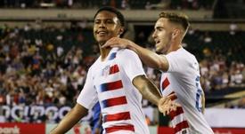 Estados Unidos, a semifinales. AFP