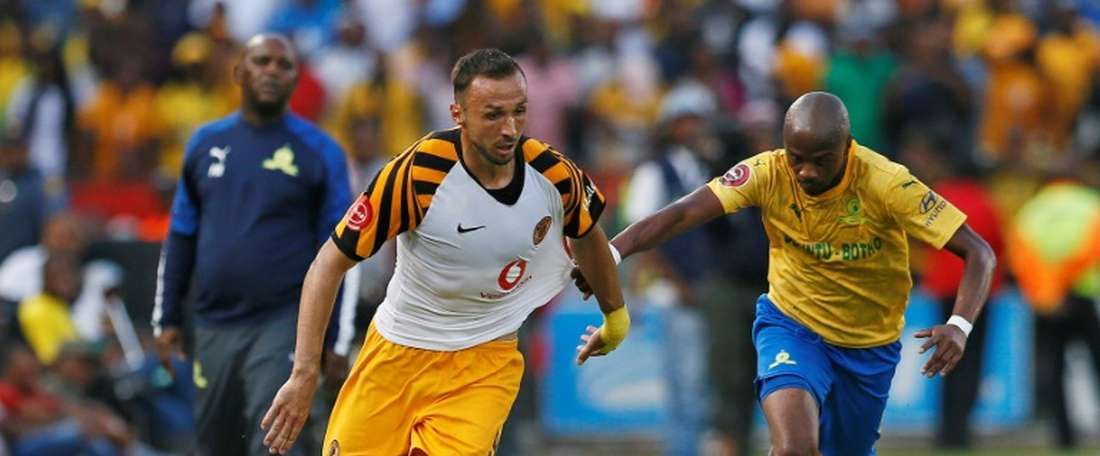 Nurkovic got a brace in Kaizer Chiefs' 4-0 victory. AFP
