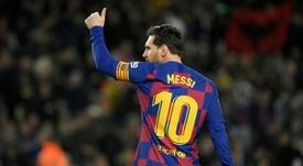 Messi au-dessus de Maradona pour Cassano. AFP