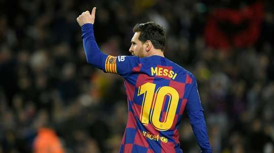 Gallardo rêve de diriger Messi. AFP