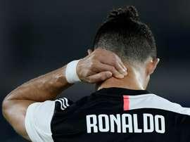 Ronaldo was criticised. AFP