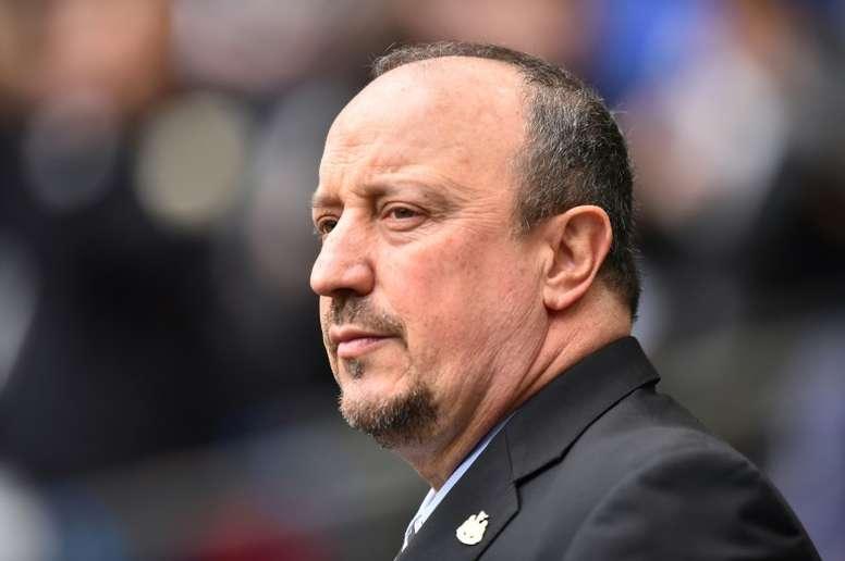 Benitez se sincera en una carta. AFP