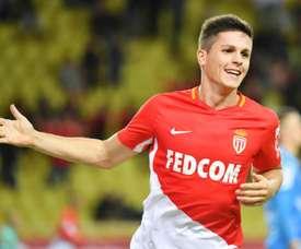 Jogador Argentino de 26 anos, tem sido opção regular pelo Monaco. EFE