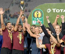 Esperance declared African champions after legal battle. AFP