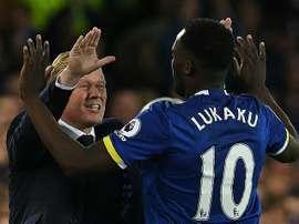 Lukaku fue el gran protagonismo del partido. EFE