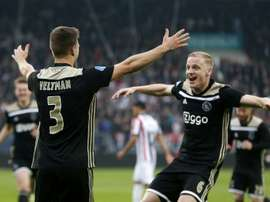One goal enough for Ajax against second-rate Spurs. AFP