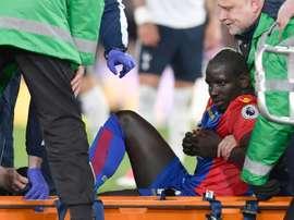 Temor por el estado de la rodilla de Sakho. AFP