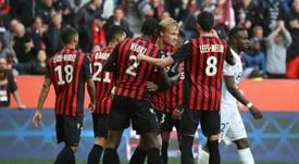 Les compos probables du match de Ligue 1 entre Toulouse et Nice. AFP