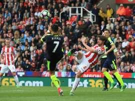 El Swansea quiere fichar a Joe Allen. AFP