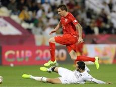 Mandzukic scored. AFP