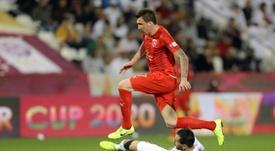 Al-Duhail wants to bring Mandzukic and Silva together. AFP
