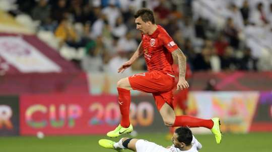 Al-Duhail wants to bring Mandzukic and Silva together. AFP