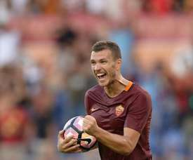 La Roma no fue capaz de vencer al Cagliari. AFP