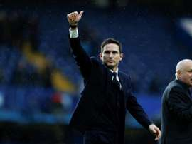 Lampard's side were able to get the win, but will need to show vast improvement. AFP