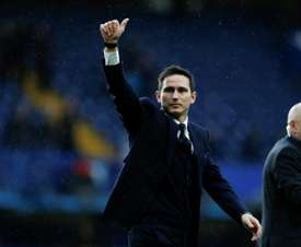 Lampard has suffered back-to-back defeats as Derby boss. AFP