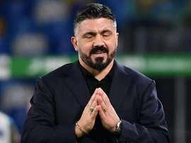 Gattuso has put off talks on his renewal until spring. AFP